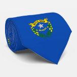 Nevada State Flag Design Neck Tie