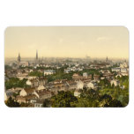 Mulhouse from the South, Alsace, France Magnet