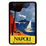 Vintage Napoli Naples Italy magnet