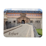 Erfurt Zitadelle photo Magnet