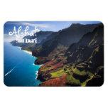 Na Pali Coastline on the Island of Kauai, Hawaii Magnet