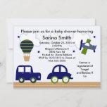 Transportation/Cambridge Baby Shower Invitations
