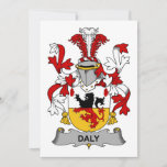 Daly Family Crest Card