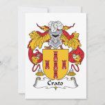 Crato Family Crest Card
