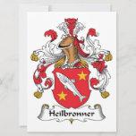 Heilbronner Family Crest Card