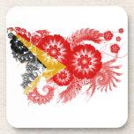 Timor Leste Flag Coaster