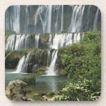 Asia, China, Yunnan Province, Qujing, Luoping Beverage Coaster