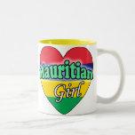 Mauritian Girl Two-Tone Coffee Mug