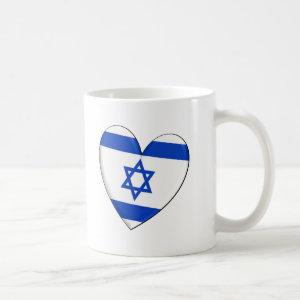Israel Heart Flag Mug