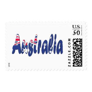 Australia Flag Stamps