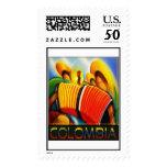 Colombian Banda Stamp