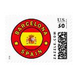 Barcelona Spain Postage