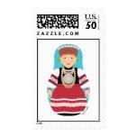 Seto, Estonia Matryoshka Stamps