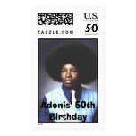 Adonis' 50th Birthday Postage