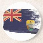 Saint Helena Flag Coasters