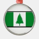 Norfolk Island Flag Metal Ornament