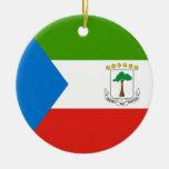 Equatorial Guinea Flag Ornament