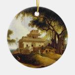 Ruins of the Naurattan, Sasaram, Bihar, 1811 (oil Ceramic Ornament