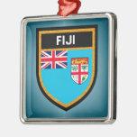 Fiji Flag Metal Ornament