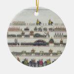 Muharram Ceremony, Faizabad, 1772 from 'The Gentil Ceramic Ornament