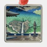 Views of Wakayama, Nachi Waterfall Asano Takeji Metal Ornament