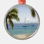 Cooper Island British Virgin Islands Metal Ornament