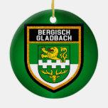 Bergisch Gladbach Flag Ceramic Ornament
