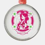 Yamagata moe metal ornament