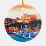 Spain Balearic Island Palma De Mallorca Ceramic Ornament