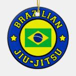Brazilian Jiu Jitsu Ceramic Ornament