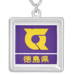 Tokushima Prefecture Silver Plated Necklace