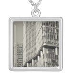 China, Beijing, Chaoyang District. Fortune Plaza 3 Silver Plated Necklace