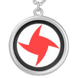 Syrian Social Nationalist Party, Syria flag Silver Plated Necklace