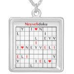 neyvelidoku silver plated necklace