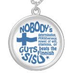 Finnish SISU necklace