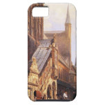 Cityhall in Lbeck by Cornelis Springer iPhone SE/5/5s Case
