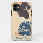 100 Figures of Beauties Wearing Takasago Kimonos iPhone SE/5/5s Case