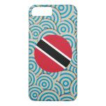Fun Filled, Round flag of Trinidad and Tobago iPhone 8 Plus/7 Plus Case