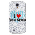 I Love Ponta Grossa, Brazil Samsung S4 Case