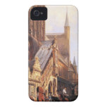 Cityhall in Lbeck by Cornelis Springer iPhone 4 Cover