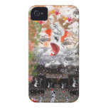 Daikoku it causes, the cat float island shrine iPhone 4 cover