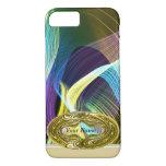 Olinda Abstract Gold Emblem iPhone 7 Case