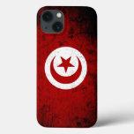 Black Grunge Tunisia Flag Tough Xtreme iPhone 6 Case