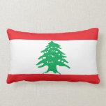 Flag of Lebanon pillow