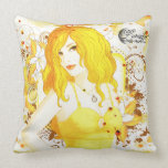 Lunadar: Selina Matar Throw Pillow