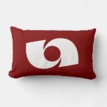Iwaki city flag Fukushima prefecture japan symbol Lumbar Pillow