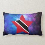 Cool Trinidad and Tobago Flag Star Lumbar Pillow