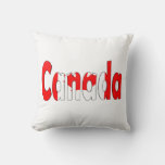 Canadian Flag Pillow