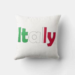 Italian Flag Pillow
