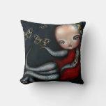 Jinxi Octopus Tattoo Girl Pillow